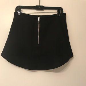 IRO black mini skirt never worn condition